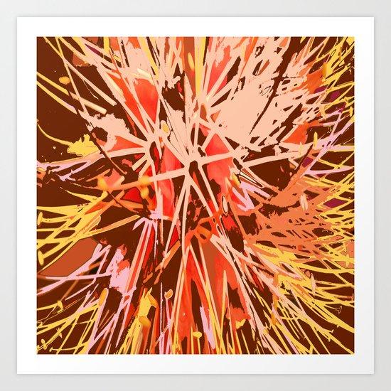 Nature's Fireworks Art Print