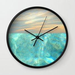 seascape 001 Wall Clock