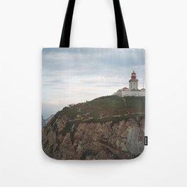 Cabo da Roca Lighthouse, Lisbon Tote Bag