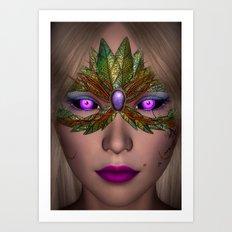 Shiba Eyes Art Print