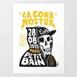 La Coka Nostra in Paris Art Print