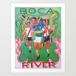 Boca River IV Art Print
