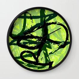 Green Lime Wall Clock
