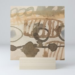 Breathing forms Mini Art Print