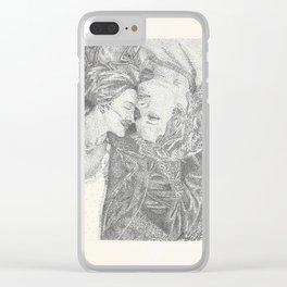 The Fault In Our Stars Pointillism Clear iPhone Case