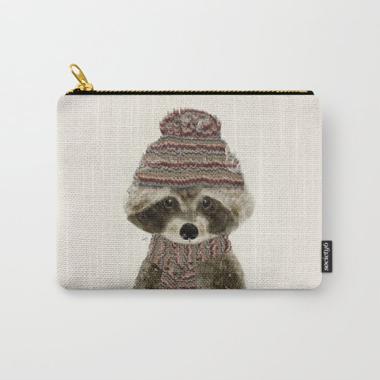 little indy raccoon Carry-All Pouch