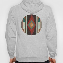 American Native Pattern No. 32 Hoody