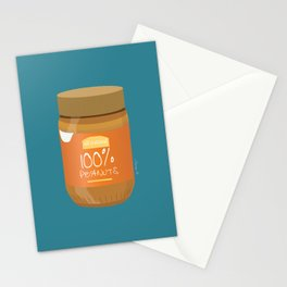 Peanut Butter Love Stationery Cards