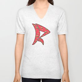 Saturated Colors Unisex V-Neck