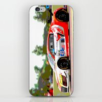 audi iPhone & iPod Skins featuring Flying Lizard Audi R8 | Road America by Phil Schroeder Design