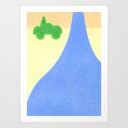The Raindrop Art Print