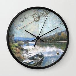 Drina River House Wall Clock