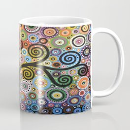 Abstract Art Landscape Original Painting ... She Dreams In Color Coffee Mug