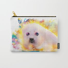 curious seal Carry-All Pouch