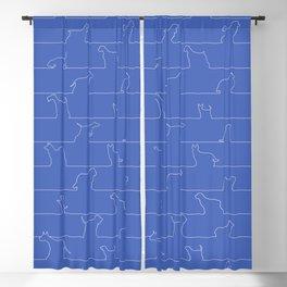 Blueprint Dogs Blackout Curtain
