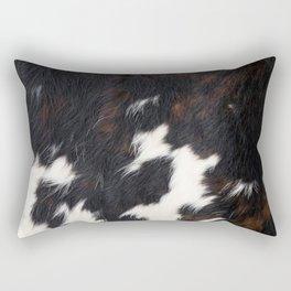 Cowhide Texture Rectangular Pillow