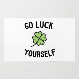 Go Luck Yourself Rug
