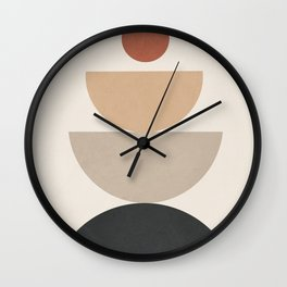 Geometric Modern Art 31 Wall Clock