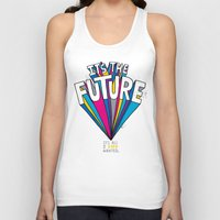 future Tank Tops featuring The Future by Chris Piascik
