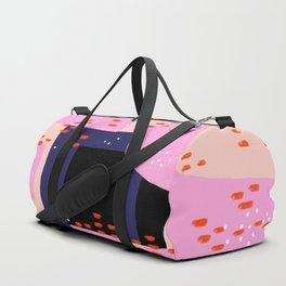 Memphis Inspired 80s Abstract Duffle Bag