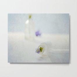 Sweet Viola Metal Print