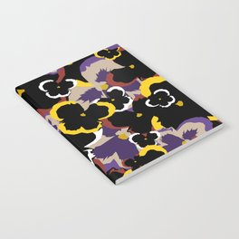 Pansy Love Notebook
