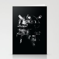 dalek Stationery Cards featuring Dalek by zerobriant