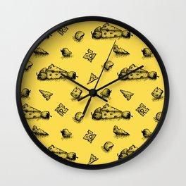 Cheeesy mood Wall Clock