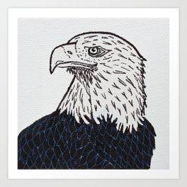 Free (Bald Eagle) Art Print