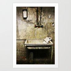 The quiet harmony of decay Art Print