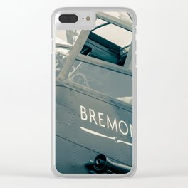 Bremont. Clear iPhone Case