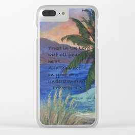 A New Sunset AC161208s Clear iPhone Case