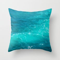 H2Oh, that's cold! Throw Pillow