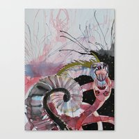 scandal Canvas Prints featuring Scandal by Karolina Dalk