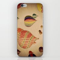 hot air balloons iPhone & iPod Skins featuring Hot Air Balloons by AdrienneW