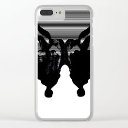 UNTITLED 1 (2017) Clear iPhone Case