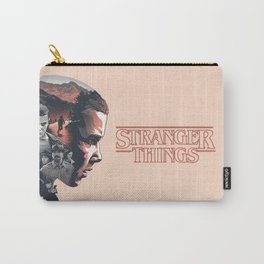 Stranger Things Collage Artwork With Eleven And the Main Cast Carry-All Pouch