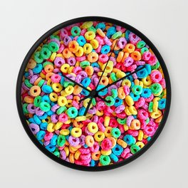 Froot Loops Wall Clock
