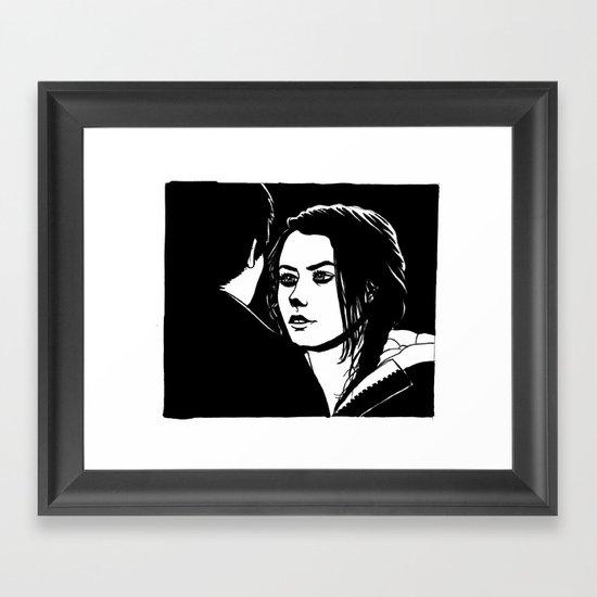 Effy Stonem Framed Art Print