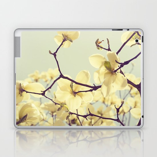 Magnolia Dream Laptop & iPad Skin