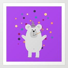 Party Polar Art Print