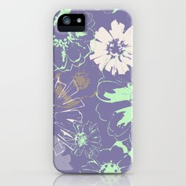 Late Summer Lavender iPhone Case