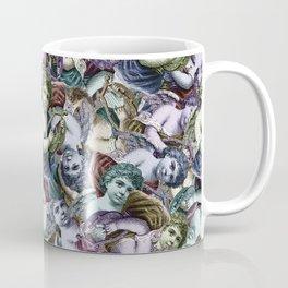Renaissance Cherub Toss in Jewel Tones Coffee Mug