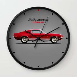 The Shelby Mustang GT500 KR Wall Clock