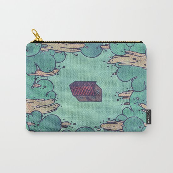 Away from Everyone Carry-All Pouch