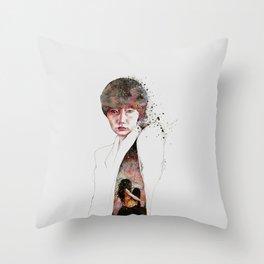 I'll Keep My Secrets Throw Pillow