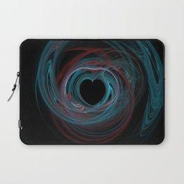 Valentine's Fractal IX - Dark Laptop Sleeve