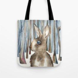 Woodland Rabbit Tote Bag