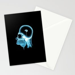 Homer Brain Stationery Cards