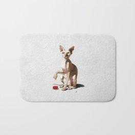 Cat-astrophe (Wordless) Bath Mat